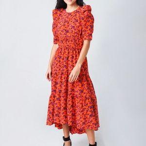 NWOT Joie Nadeen Silk Maxi Dress